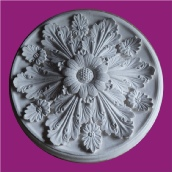 Enriched ceiling rose