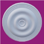 Plain ceiling rose